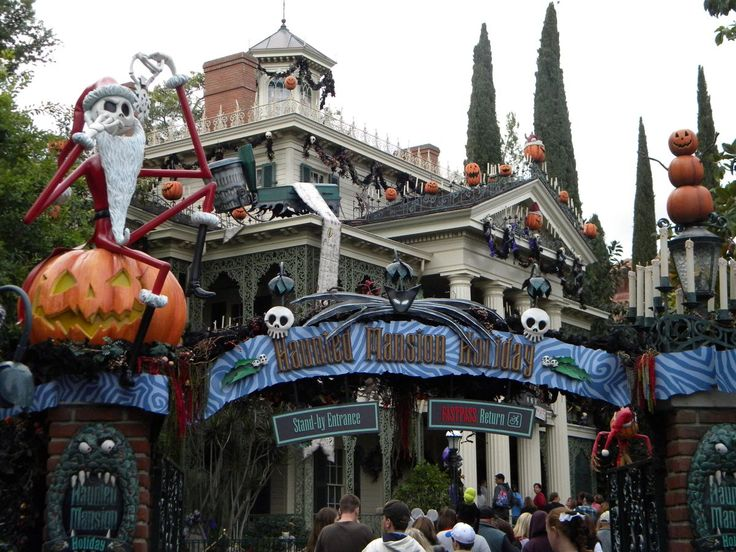 Nightmare before christmas haunted house ideas - House interior