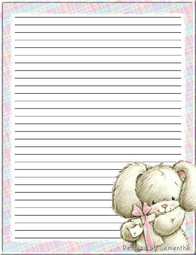 1060 best Lined \ Plain Writing Papers! images on Pinterest - sample lined paper