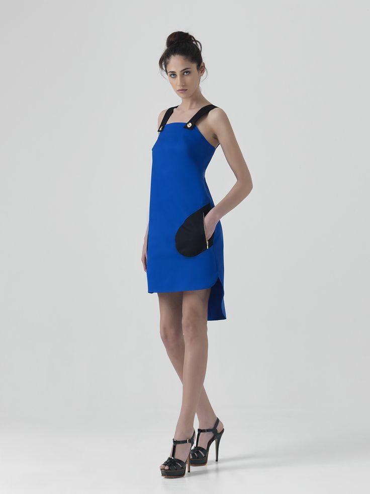 Dress to wear! #dresses #blue   www.yazz.gr