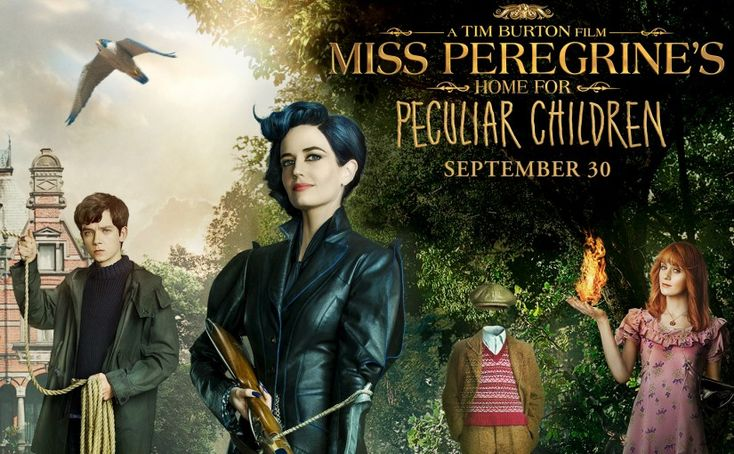 Enter to win a Miss Peregrine's Home for Peculiar Children Prize Pack and a Harkins Family Prize Pack!
