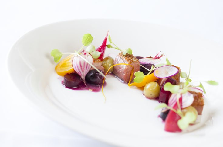Roasted duck with heritage beetroots | FOUR Magazine