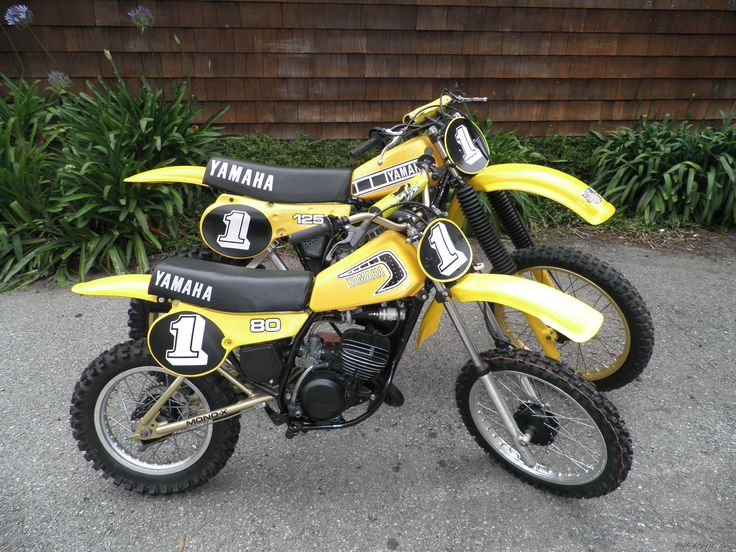My dirt bike as a kid. 1981 Yamaha YZ 80. I freakin' loved this bike.