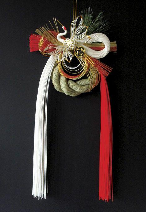 紅白鶴〈kouhaku tsuru〉 お飾り  Gallery TIER〈タイヤー〉