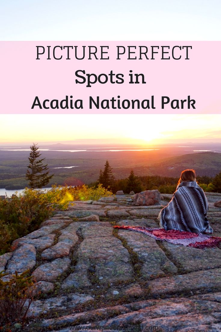 Picture perfect spots you must check out when visiting Acadia National Park