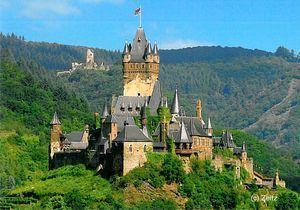 Reichsburg, Cochem, Rheinland-Pfalz - #Germany, #Alemania, #Deutschland, #Germania