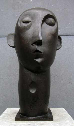 Mannenkop - Peter Harskamp 1951
