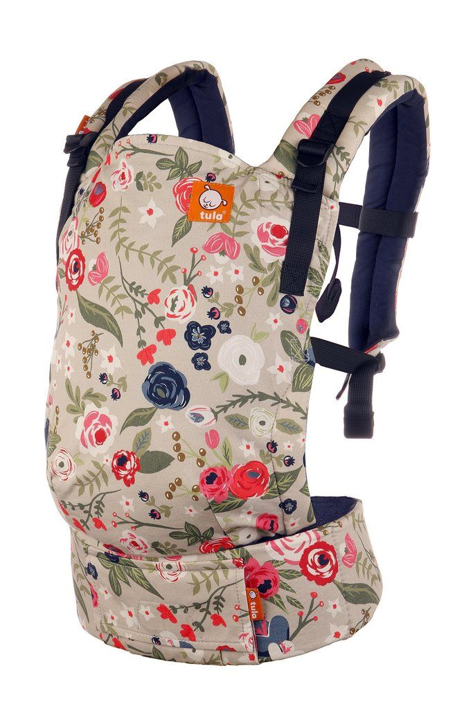 Floral Free-to-Grow Baby Carrier! Rosy Posy - Tula Free-to-Grow Baby Carrier.
