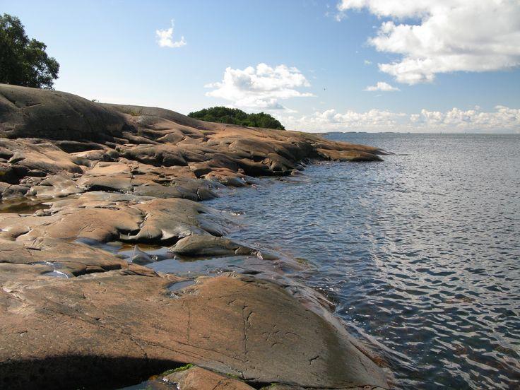 Coastline of Aland island, Finland
