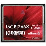 Kingston Technology - 16GB Ultimate CompactFlash Card 266x, CF/16GB-U2
