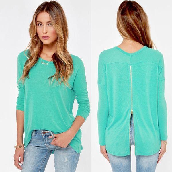 Fashion Casual Mint Sweatshirt Long Sleeve Sport Hoodies Tracksuits Women Hoody Pullover