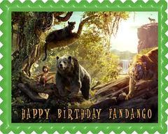 The Jungle Book Movie 1 Edible Birthday Cake Topper OR Cupcake Topper, Decor - Edible Prints On Cake (Edible Cake &Cupcake Topper)
