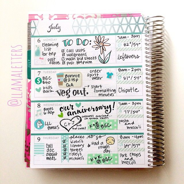 My Erin Condren planner is everything. I like to write what I did everyday so I can look back and remember! Also schedule everything I have going on!