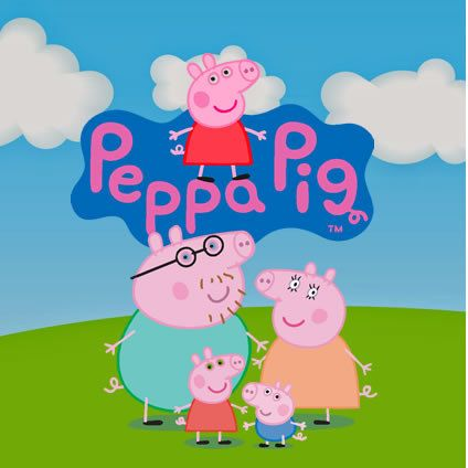 Peppa Pig 55 clipart CDR images, vector graphics free mail ...