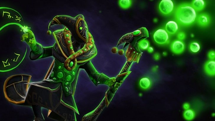 Download Rubick Set Wandering Harlequin Regalia Loading Screen 1920x1080