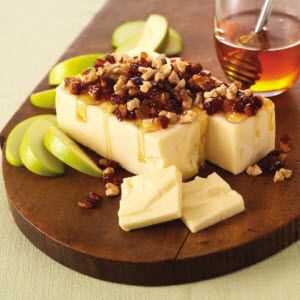 Honey-Drizzled Cheddar Cheese   Recipe   Cheddar, Cheese Recipes and ...