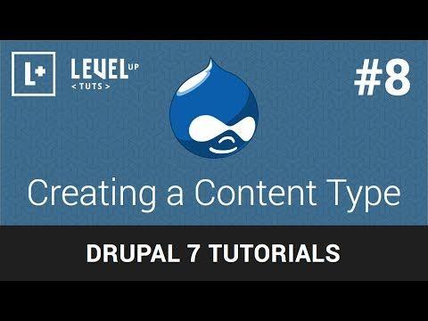 Drupal Tutorials #8 - Creating a Content Type - http://timechambermarketing.com/uncategorized/drupal-tutorials-8-creating-a-content-type/