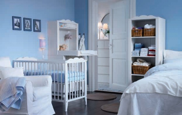 We might just go with the IKEA Hensvik crib...