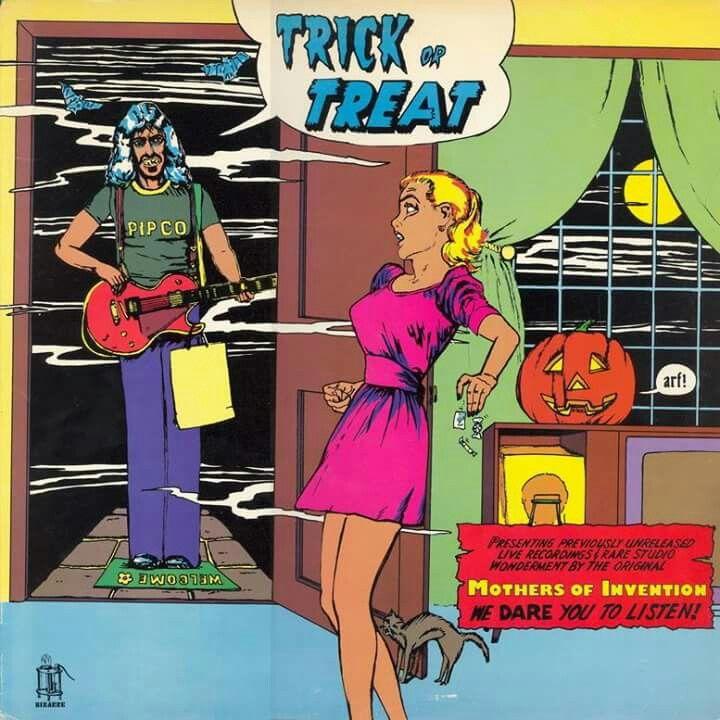 Pin by Diego Azzolin on Zappa | Frank zappa, Zappa, Album ...