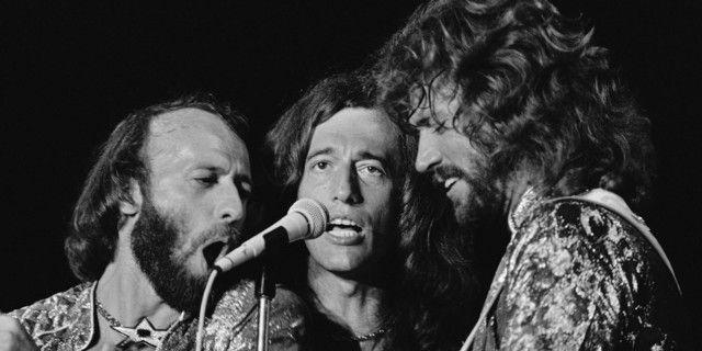 Les Bee Gees en 1979 à Miami Beach
