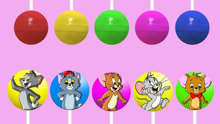 Tom and Jerry Lollipop Finger Family   Top 10 Finger Family Collection Nursery Rhymes