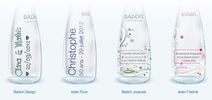 Des bouteilles d'eau personnalisées | Happy Chantilly