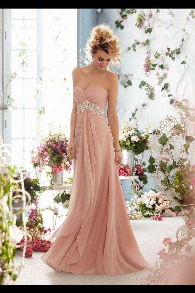 dusky pink bridesmaid dress dress ideas pinterest ForDusky Pink Wedding Dress