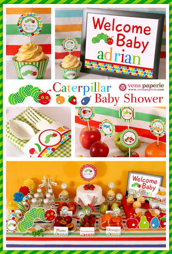 15 best Party Ideas images on Pinterest Eric carle baby shower