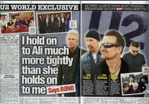'Our First Roadie' : To mark the CD/Vinyl release of Songs of Innocence, the band have been speaking to The Sun newspaper in the UK. A great read with lots of new stories *Read more www.u2.com/news/title/our-first-roadie  www.u2france.com/actu/notre-premier-roadie,58054.html #u2NewsActualitePinterest #u2NewsActualite #u2 #bono #PaulHewson #TheEdge #LarryMullenJr #AdamClayton #music #rock #2014