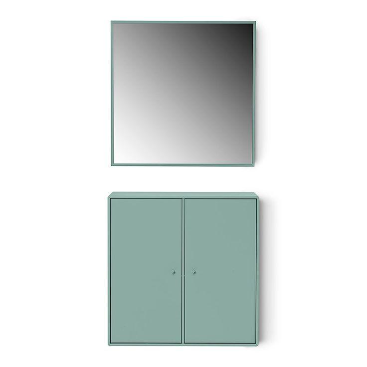 Designer Shelf with Big Mirror by Montana #designer #shelf #big #mirror