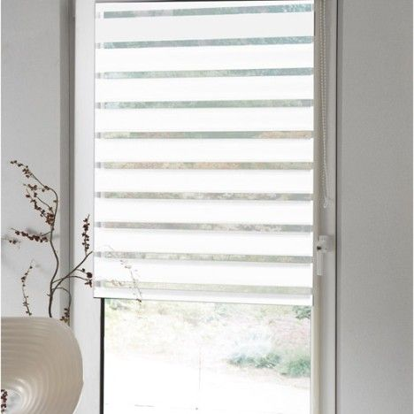 store vnitien bois leroy merlin store enrouleur journuit polyester inspire blanc blanc n x cm. Black Bedroom Furniture Sets. Home Design Ideas
