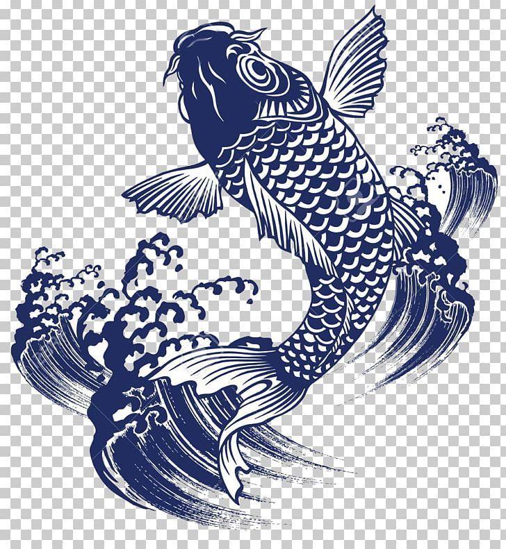 Koi Goldfish Japan Painting Png Art Beak Bird Carp Drawing Goldfish Art Illustrations Japan Painting Goldfish Art