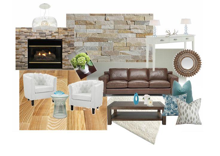 Mood board - Living Room - Ivory