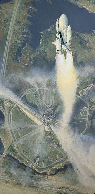 Shuttle Take Off