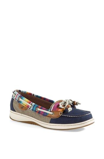 Sperry Top-Sider® 'Angelfish' Boat Shoe | Nordstrom Navy Serape