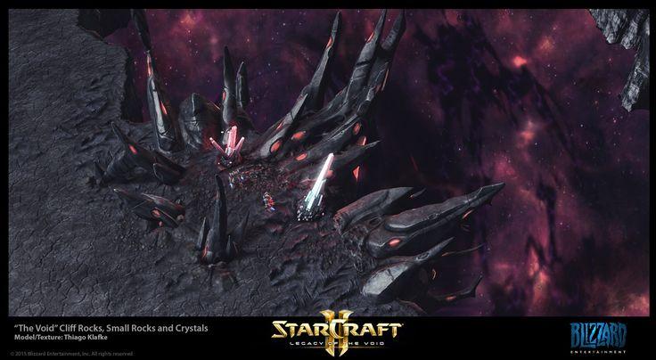 Starcraft II LotV The Void Rocks, Thiago Klafke on ArtStation at https://www.artstation.com/artwork/wORyw