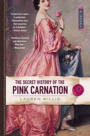 The Secret History of the Pink Carnation - Lauren Willig. I enjoy historical fiction and this novel was a wonderful mix of a love story and history. A very fun read! Sept. 2016