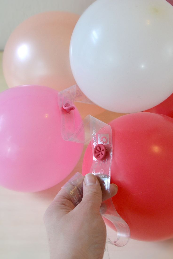 Der Ballon Dekorierstreifen  DIY Ballon Dekorieren