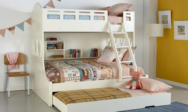 Bunk Bed Buying Guide - Triple Bunk Bed - www.houseofhome.com.au/blog/types-bunk-beds