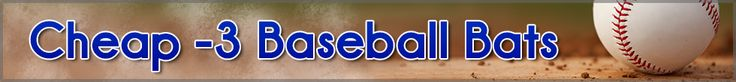 Visit our site http://cheap-3baseballbats.com for more information on Cheap -3 Baseball Bats.Baseball is a very popular sport. Choosing a baseball bat can be a confusing process. Wood baseball bats alone come in different lengths, weights, and material. For someone looking for a new baseball bat, then Easton baseball bats give very high performance.