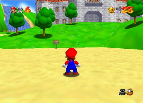 Super Mario on N64, how many hours did I spend on this?