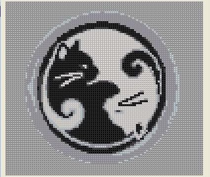 Cat Cross Stitch Pattern