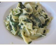 Rezept Penne mit Spinat-Gorgonzola-Sauce von Nadweb11 - Rezept der Kategorie sonstige Hauptgerichte