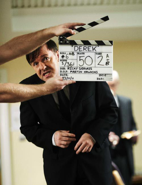 love love love Ricky Gervais...even when he looks like this<3
