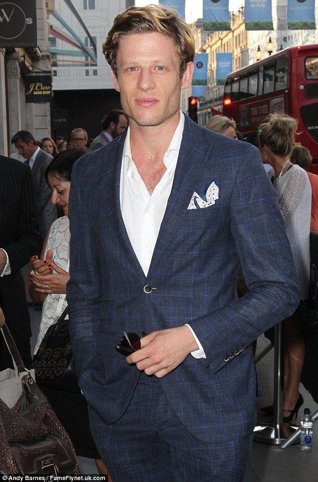 Spotted: James Norton rocks a stylish pocket square...