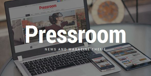 Pressroom is a highly configurable and responsive WordPress Theme best suitable for news, newspaper, magazine or review sites. It comes with drag & drop page builder: Visual Composer for WordPress, so it's super easy to build any page layout. Tags: wordpress, theme, boxed, dark, high contrast, magazine, news, newspaper, rating, review, rtl, shop, sticky, visual composer, wide.