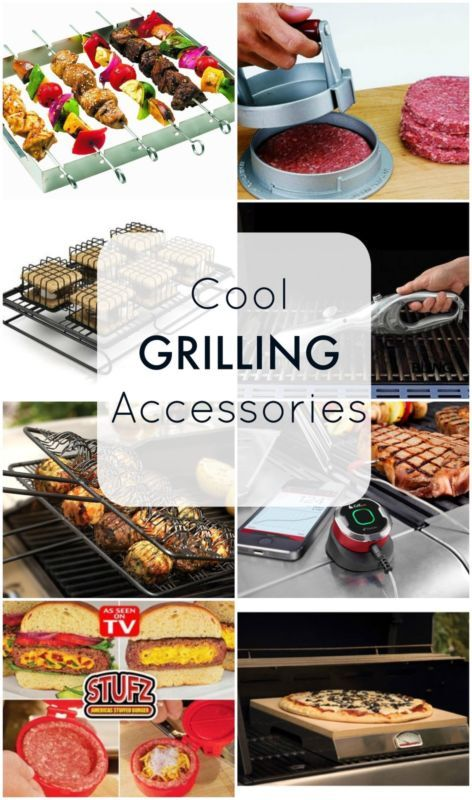 Super cool grilling accessories - the perfect Father's Day gift!!