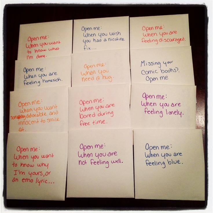 Basic Training Letter Ideas