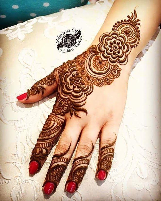 d1cee33c1 35+Beautiful and Easy Eid Festival Mehndi Designs for Girls - Sensod ...