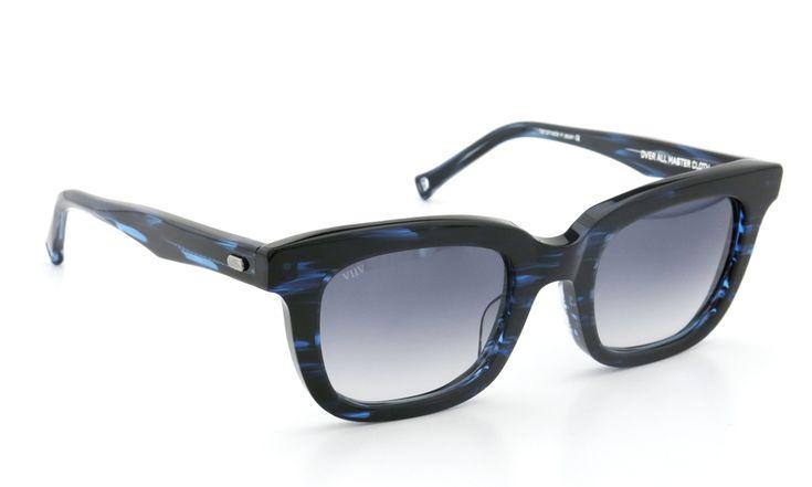 OAMC(オーバーオールマスタークロス)サングラス[arc アーク 50size BLUE SASA/BLUE 1/2]    ponmegane