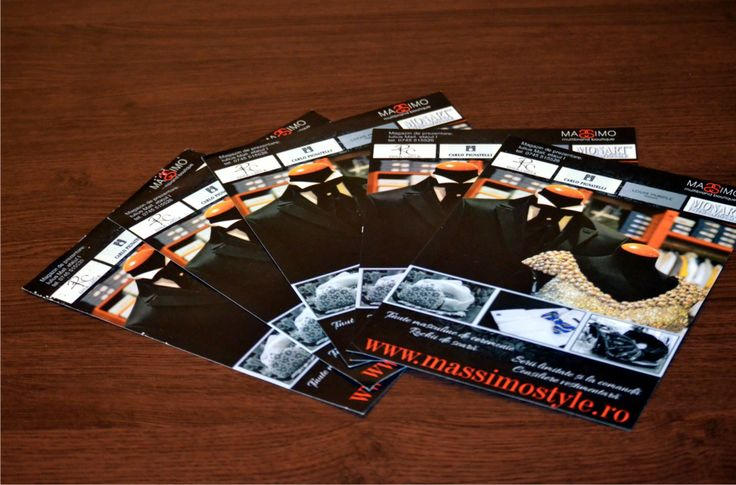 Massimo Multibrand Boutique flyer